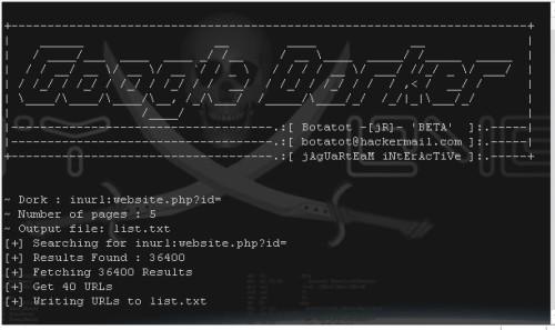 Google Dorker (Python)   V3RuZ4WiRES